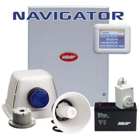 Ness D8X Navigator alarm kit